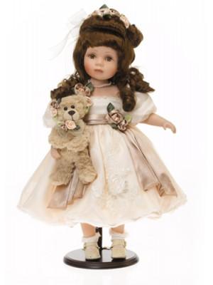 Nostalgická porcelánová bábika 1