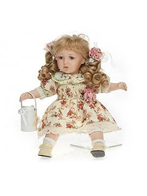 Porcelánová bábika romantická