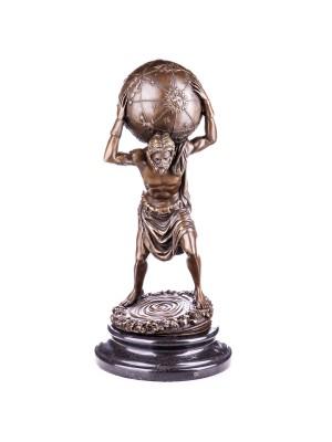 Bronzový boh Atlas