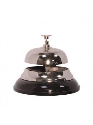 Recepčný zvonček striebro
