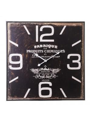 Vintage hodiny štvorec