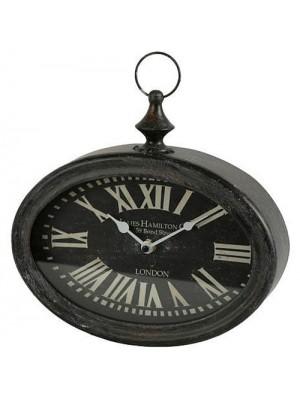 Oválne hodiny