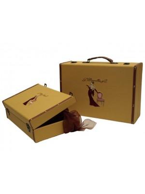 Koženkový kufrík