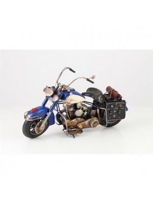 Plechový model motorky