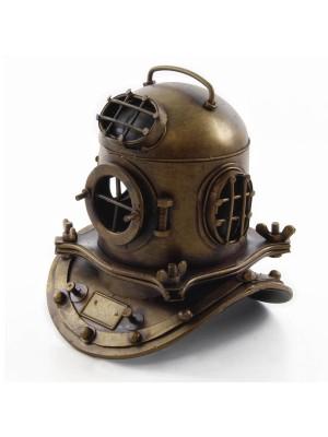 Potápačská helma mosadz