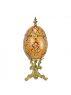 Porcelánová dóza vajce