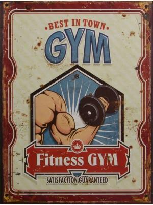 Tabuľa Fitness GYM