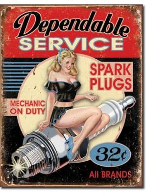 Tabuľa Dependable Service