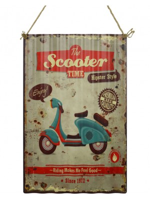 Ceduľa The Scooter Time